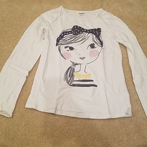 Girl's long sleeve shirt